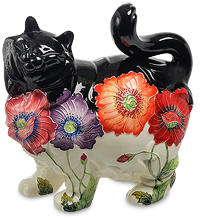 Фарфоровые изделия из серии Маки