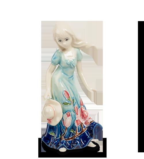 """Дизайн Цветущая Сакура. JP-97/25 Статуэтка """"Юная леди ...  Цветущая Сакура Png"""